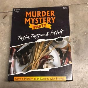 🔥⏱Murder Mystery Party Pasta Passion& Pistols